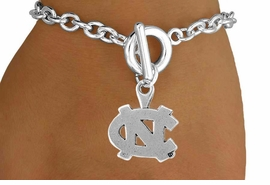 <Br>                  LEAD & NICKEL FREE!!<Br>                OFFICIALLY LICENSED!!<bR>    W15024B - UNIVERSITY OF NORTH<Br>CAROLINA BRACELET AS LOW AS $3.65