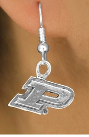 """<Br>             LEAD & NICKEL FREE!!<Br>          OFFICIALLY LICENSED!!!<bR>W15052E - PURDUE UNIVERSITY<Br>    """"BOILERMAKERS"""" EARRINGS<BR>                 AS LOW AS $3.65"""