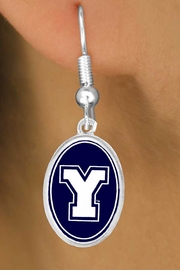 <Br>           LEAD & NICKEL FREE!!<Br>        OFFICIALLY LICENSED!!!<bR>   W15677E - BRIGHAM YOUNG<Br>UNIVERSITY VIKINGS EARRINGS<Br>           FROM $3.94 TO $8.75