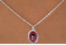 <Br>            LEAD & NICKEL FREE!!<Br>          OFFICIALLY LICENSED!!<bR>W15840N - NEW MEXICO STATE<Br> UNIVERSITY AGGIES NECKLACE<Br>            FROM $3.94 TO $8.75