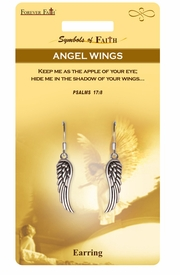 "<Br>            LEAD & NICKEL FREE!!<Br>RELIGIOUS SYMBOLS OF FAITH!!<Br>   W15419E - ""ANGEL'S WINGS""<Br>    EARRINGS WITH GIFT CARD &<Br>     ENVELOPE AS LOW AS $4.47"