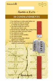 "<Br>                   LEAD & NICKEL FREE!!<Br>        RELIGIOUS SYMBOLS OF FAITH!!<Br>   W15519BM - ""10 COMMANDMENTS""<Br>TABLET CHARM BOOKMARK WITH GIFT<Br>   CARD & ENVELOPE AS LOW AS $3.97"
