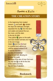 "<Br>                 LEAD & NICKEL FREE!!<Br>     RELIGIOUS SYMBOLS OF FAITH!!<Br>W15526BM - ""THE CREATION STORY""<Br>BUTTERFLY AND CROSS BOOKMARK<Br>        WITH GIFT CARD & ENVELOPE<Br>                     AS LOW AS $3.97"