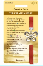 """<Br>                 LEAD & NICKEL FREE!!<Br>     RELIGIOUS SYMBOLS OF FAITH!!<Br>W15526BM - """"THE CREATION STORY""""<Br>BUTTERFLY AND CROSS BOOKMARK<Br>        WITH GIFT CARD & ENVELOPE<Br>                     AS LOW AS $3.97"""