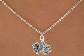 <Br>              LEAD & NICKEL FREE!!<Br>        STERLING SILVER PLATED!!<bR> W12846N - LICENSED UNIVERSITY<Br>  OF SOUTH CAROLINA GAMECOCKS<Br>MASCOT NECKLACE AS LOW AS $3.65