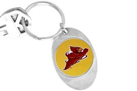 """<Br>                LEAD & NICKEL FREE!!<Br>          STERLING SILVER PLATED!!<bR>W13892KC - LICENSED IOWA STATE<Br>     UNIVERSITY """"CYCLONES"""" LOGO<Br>         KEY CHAIN AS LOW AS $1.99"""