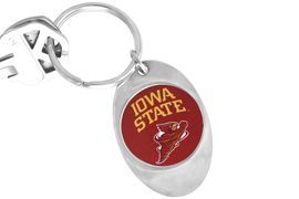 """<Br>                LEAD & NICKEL FREE!!<Br>          STERLING SILVER PLATED!!<bR>W13894KC - LICENSED IOWA STATE<Br>     UNIVERSITY """"CYCLONES"""" LOGO<Br>         KEY CHAIN AS LOW AS $1.99"""