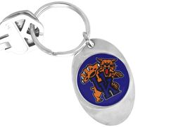 """<Br>             LEAD & NICKEL FREE!!<Br>        STERLING SILVER PLATED!!<bR>W14016KC - LICENSED UNIVERSITY<Br>  OF KENTUCKY """"WILDCATS"""" LOGO<Br>       KEY CHAIN AS LOW AS $1.99"""