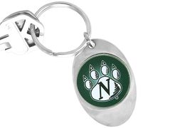 """<Br>               LEAD & NICKEL FREE!!<Br>         STERLING SILVER PLATED!!<bR>W14183KC - LICENSED NORTHWEST<Br>       MISSOURI STATE UNIVERSITY<Br>     """"BEARCATS"""" LOGO KEY CHAIN<Br>                                 AS LOW AS $1.99"""