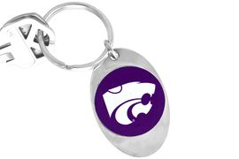 "<Br>              LEAD & NICKEL FREE!!<Br>        STERLING SILVER PLATED!!<bR>   W14198KC - LICENSED KANSAS<Br>   STATE UNIVERSITY ""WILDCATS""<Br>LOGO KEY CHAIN AS LOW AS $1.99"