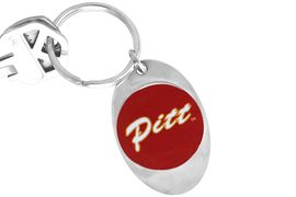 """<Br>              LEAD & NICKEL FREE!!<Br>        STERLING SILVER PLATED!!<bR>W14201KC - LICENSED PITTSBURG<Br>    STATE UNIVERSITY """"GORILLAS""""<Br> LOGO KEY CHAIN AS LOW AS $1.99"""