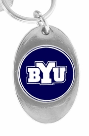 <Br>             LEAD & NICKEL FREE!!<Br>       STERLING SILVER PLATED!!<bR>W15685KC - LICENSED BRIGHAM<Br>YOUNG UNIVERSITY VIKINGS KEY<Br>                    CHAIN FROM $1.99