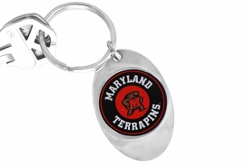 "<Br>                LEAD & NICKEL FREE!!<Br>          STERLING SILVER PLATED!!<bR>W16953KC - LICENSED UNIVERSITY<Br>        OF MARYLAND ""TERRAPINS""<Br>   KEY CHAIN FROM $3.94 TO $8.75"