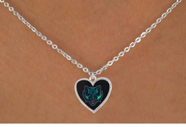 "<Br>                LEAD & NICKEL FREE!!<Br>          STERLING SILVER PLATED!!<bR>W17022N - LICENSED BINGHAMTON<Br>UNIVERSITY ""BEARCATS"" NECKLACE<BR>                FROM $3.94 TO $8.75"