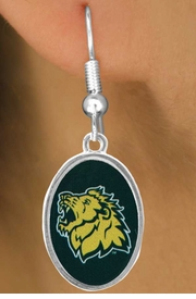 "<Br>            LEAD & NICKEL FREE!!<Br>      STERLING SILVER PLATED!!<bR>W17074E - LICENSED MISSOURI<BR>  SOUTHERN STATE UNIVERSITY<bR>       ""LIONS"" EARRINGS FROM<br>                   $3.94 TO $8.75"