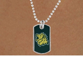 "<Br>             LEAD & NICKEL FREE!!<Br>       STERLING SILVER PLATED!!<bR> W17076N - LICENSED MISSOURI<Br>   SOUTHERN STATE UNIVERSITY<Br>         ""LIONS"" DOG TAG LOGO<BR> NECKLACE FROM $3.94 TO $8.75"