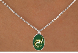 "<Br>                LEAD & NICKEL FREE!!<Br>          STERLING SILVER PLATED!!<bR>   W17100N - LICENSED UNIVERSITY<Br>OF NORTH CAROLINA AT CHARLOTTE<bR> ""FORTY-NINERS"" NECKLACE FROM<Br>                       $3.94 TO $8.75"