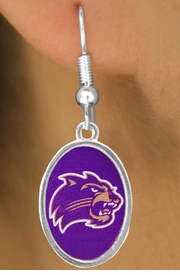 <Br>                 LEAD & NICKEL FREE!!<Br>           STERLING SILVER PLATED!!<bR>       W17129E - LICENSED WESTERN<Br>CAROLINA UNIVERSITY CATAMOUNTS<bR>     EARRINGS FROM $3.94 TO $8.75