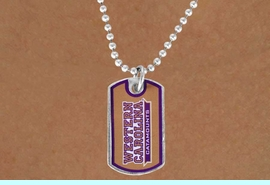 <Br>                           LEAD & NICKEL FREE!!<Br>                     STERLING SILVER PLATED!!<bR>     W17133N - LICENSED WESTERN CAROLINA<Br>                   UNIVERSITY DOG TAG LOGO  <BR>                NECKLACE FROM $3.94 TO $8.75