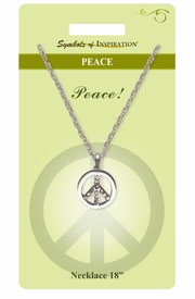 "<Br>               LEAD & NICKEL FREE!!<Br>        SYMBOLS OF INSPIRATION!!<Br>               W15462N - ""PEACE""<Br>         NECKLACE WITH GIFT CARD<Br>   AND ENVELOPE AS LOW AS $7.97"