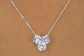 <Br>              LEAD & NICKEL FREE!!<Br>W12486NE - SPARKLING GENUINE<Br>     AUSTRIAN CRYSTAL 3-STONE<Br>        NECKLACE & EARRING SET<Br>           FROM $17.88 TO $33.00