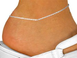 <Br>          ADJUSTABLE,  LEAD & NICKEL FREE!!<Br>W14156A1 - SILVER TONE CHAIN<Br>        ANKLET  $4.83 EACH <BR>A1