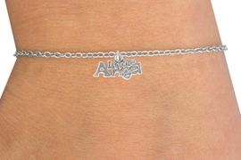 "<Br>         LEAD & NICKEL FREE!!<BR>  W14504B - ""LITTLE ANGEL""<Br>CHILDREN'S CHAIN BRACELET<BR>              AS LOW AS $3.25"