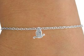 <Br>            LEAD & NICKEL FREE!!<BR>W14554B - LARGE DOVE CHARM<Br>   CHILDREN'S CHAIN BRACELET<BR>            FROM $3.25 TO $7.50