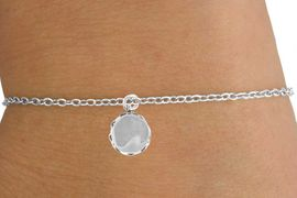 <Br>        LEAD & NICKEL FREE!!<BR>      W14609B - DRUM ON A<Br>CHILDREN'S CHAIN BRACELET<BR>              AS LOW AS $3.25