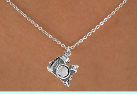 """<Br>             LEAD & NICKEL FREE!!<BR>      W14612N - DRUM SET ON A<Br>CHILDREN'S 12"""" CHAIN NECKLACE<BR>                   AS LOW AS $3.55"""