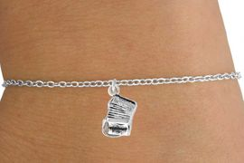 <Br>        LEAD & NICKEL FREE!!<BR>W14621B - ACCORDION ON A<Br>CHILDREN'S CHAIN BRACELET<BR>              AS LOW AS $3.25