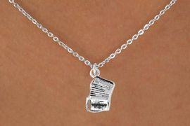 "<Br>              LEAD & NICKEL FREE!!<BR>     W14622N - ACCORDION ON A<Br>CHILDREN'S 12"" CHAIN NECKLACE<BR>                  AS LOW AS $3.55"