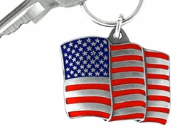 <Br>             LEAD & NICKEL FREE!!!<Br>W15080KC - UNITED STATES FLAG<br>       KEY CHAIN AS LOW AS $2.99