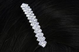 <Br>           LEAD & NICKEL FREE!!<Br>W15949HJ - GENUINE AUSTRIAN<Br>     CRYSTAL HAIR COMB FROM<Br>                   $2.25 TO $5.00