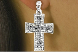 """<Br>                   LEAD & NICKEL FREE!!<Br>W16195NE - """"GLITTERING FIRE CROSS""""<Br>            PENDANT NECKLACE FROM<Br>                       $20.81 TO $46.25"""