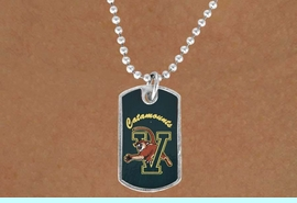 <Br>            LEAD & NICKEL FREE!!<bR>W17174N - LICENSED <Br> UNIVERSITY OF VERMONT DOG<bR> TAG NECKLACE FROM $3.94 TO $8.75