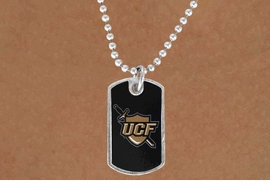 <Br>            LEAD & NICKEL FREE!!<bR>W17178N - LICENSED UNIVERSITY <Br>OF CENTRAL FLORIDA  DOG<bR> TAG NECKLACE FROM $3.94 TO $8.75