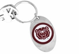 <Br>                LEAD & NICKEL FREE!!<bR>                 W17235KC - LICENSED <Br>       MISSOURI STATE UNVIERSITY<Br>LOGO KEY CHAIN FROM $3.94 TO $8.75