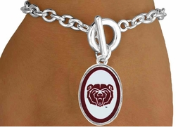 <Br>        LEAD & NICKEL FREE!!<bR>W17237B - LICENSED MISSOURI <Br>  STATE UNIVERSITY BRACELET<Br>        FROM $3.94 TO $8.75