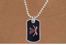 <Br>            LEAD & NICKEL FREE!!<bR>       W17272N - LICENSED<Br> UNIVERSITY OF VIRGINIA DOG<bR> TAG NECKLACE FROM $3.94 TO 8.75