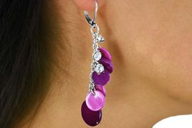 <Br>                LEAD & NICKEL FREE!!<Br>     W17313EA - 3-COLOR PEARIZED DISC <Br>          BEADS AND CRYSTAL DROP EARRING<BR>ASSORTMENT FROM $4.84 TO $10.75