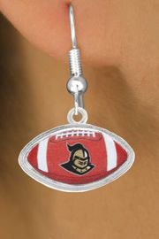 """<Br>                LEAD & NICKEL FREE!!<bR>W17587E - LICENSED UNIVERSITY OF<br>CENTRAL FLORIDA """"KNIGHTS"""" LOGO<Br>    EARRINGS FROM $6.75 TO $15.00"""