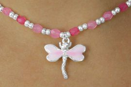 <Br>                 LEAD & NICKEL FREE!!<BR>W17777NBRA - ADORABLE CHILDREN'S<Br>    DRAGONFLY AND FLOWER STRETCH<Br>  NECKLACE, BRACELET, AND RING SET<BR>         4-COLOR ASSORTMENT FROM<br>                        $3.94 TO $7.85