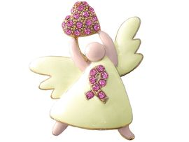 "<br>                   LEAD & NICKEL FREE!!<BR>     W3459P-OUR #1 ""BEST SELLING""<BR>BREAST CANCER PIN FROM $5.43 EACH �2006"