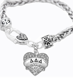 <BR>      LICENSED SORORITY JEWELRY MANUFACTURER<BR>           DELTA DELTA DELTA  SORORITY BRACELET<BR>                 NICKEL, LEAD,  & CADMIUM FREE! <BR>                       EXCLUSIVELY OURS W1742B1<BR>               FROM $7.90 TO $12.50 EACH �2015 <BR>