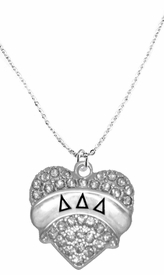 <BR>      LICENSED SORORITY JEWELRY MANUFACTURER<BR>           DELTA DELTA DELTA  SORORITY NECKLACE<BR>                 NICKEL, LEAD,  & CADMIUM FREE! <BR>                       EXCLUSIVELY OURS W1742N1<BR>               FROM $7.90 TO $12.50 EACH �2015 <BR>