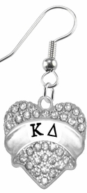 <BR>     LICENSED SORORITY JEWELRY MANUFACTURER<BR>           KAPPA DELTA  SORORITY EARRINGS<BR>                 NICKEL, LEAD,  & CADMIUM FREE! <BR>                                 HYPOALLERGENIC<BR>                       EXCLUSIVELY OURS W1738E1<BR>               FROM $7.90 TO $12.50 EACH �2015