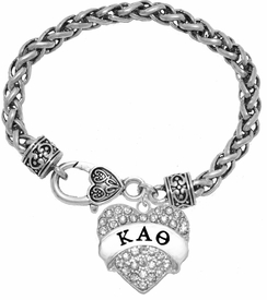 <BR>     LICENSED SORORITY JEWELRY MANUFACTURER<BR>    KAPPA ALPHA THETA SORORITY BRACELET<BR>                 NICKEL, LEAD,  & CADMIUM FREE! <BR>                                 HYPOALLERGENIC<BR>                       EXCLUSIVELY OURS W1737B1<BR>               FROM $7.90 TO $12.50 EACH �2015