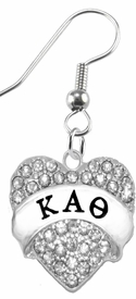 <BR>     LICENSED SORORITY JEWELRY MANUFACTURER<BR>           KAPPA ALPHA THETA SORORITY EARRING<BR>                 NICKEL, LEAD,  & CADMIUM FREE! <BR>                       HYPOALLERGENIC<BR>                       EXCLUSIVELY OURS W1737E1<BR>               FROM $7.90 TO $12.50 EACH �2015