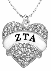 <BR>      LICENSED SORORITY JEWELRY MANUFACTURER<BR>           ZETA TAU ALPHA SORORITY NECKLACE<BR>                 NICKEL, LEAD,  & CADMIUM FREE! <BR>                       EXCLUSIVELY OURS W1739N1<BR>               FROM $7.90 TO $12.50 EACH �2015 <BR>